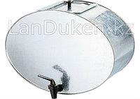 Оцинкованный умывальник с крышкой и краном 20 л, 67551 (002)