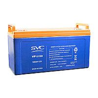 Батарея, SVC, 12В 100 Ач, Размер в мм.: 235*173*406