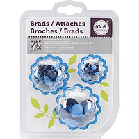 Брадсы Basic Brads Painted – Blue