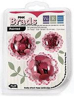 Брадсы Basic Brads Painted – Pink
