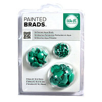 Брадсы Basic Brads Painted - Aqua