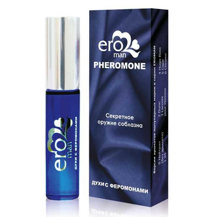 Мужские духи Eroman №5 с феромонами, 8 мл аромат CIGAR,