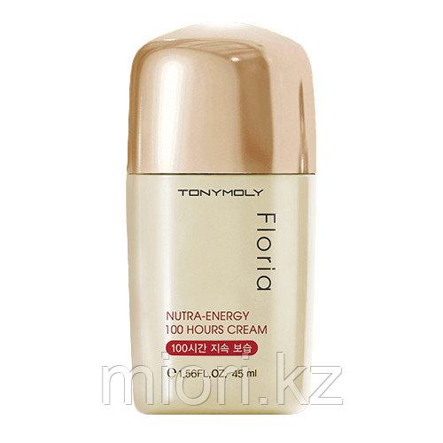 Ультра-увлажняющий крем для лица Tony Moly FLORIA NUTRA Energy 100 hours cream