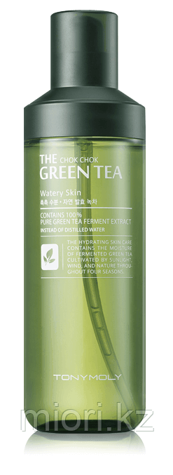 Увлажняющий тоник Tonymoly The Chok Chok Green Tea Watery Skin,160мл