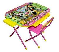 Набор мебели Дэми Всезнайка Чиполлино розовый  , фото 1