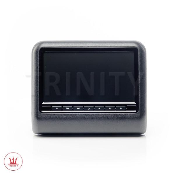 Навесные мониторы на подголовник с DVD Черный цвет