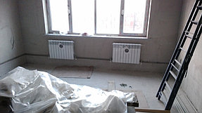 """Монтаж системы отопления  """"Под ключ """"дом 170м2 мкр.Думан Алматинская обл. 1"""