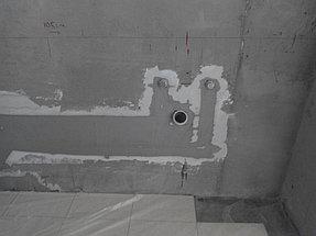 Монтаж системы водоснабжения и канализации с установкой санфаянса дом 170 м2 мкр. Думан 1