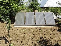 Плоский солнечный коллектор для отопления дома 1,9 м.2 (Китай)