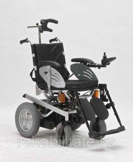 Кресло инвалидное электрическое с подголовником FS123GC