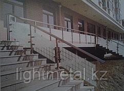 Перила и ограждения из нержавеющей стали для балконов