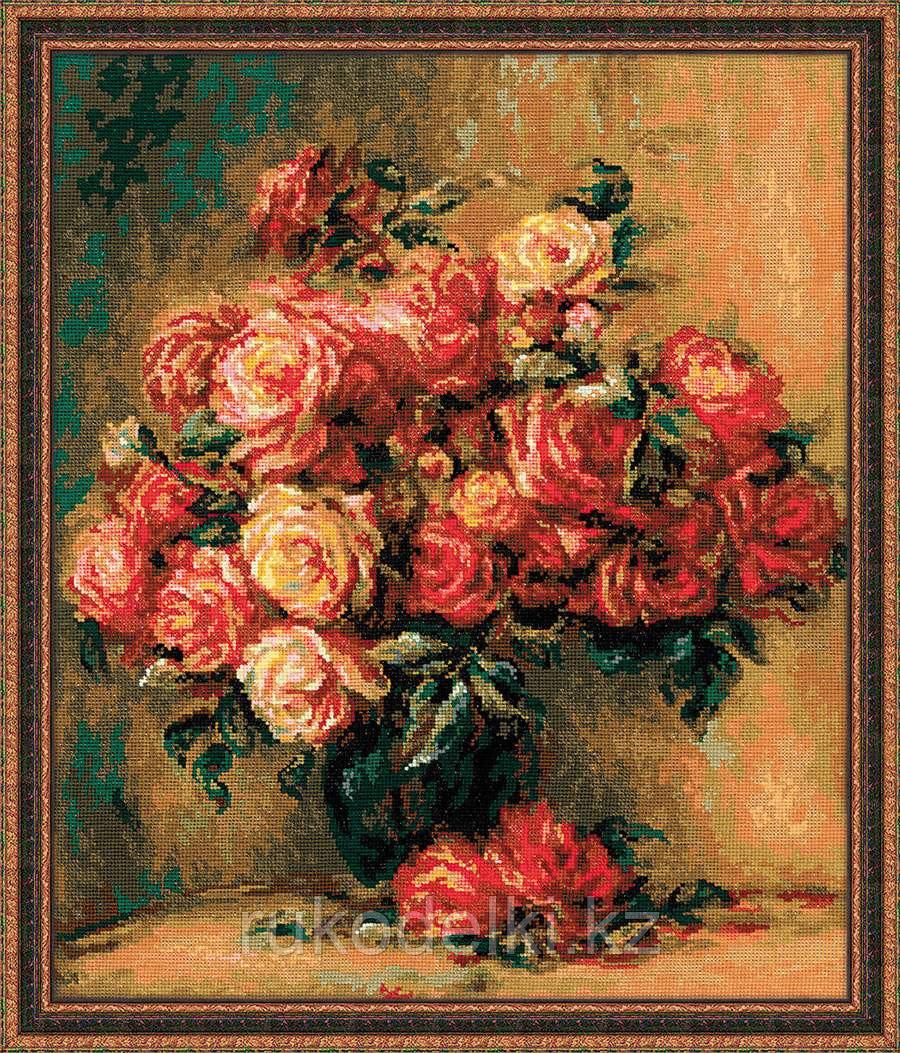 """Набор для вышивания крестом """"Букет роз"""""""