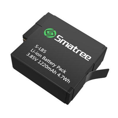 Доп. аккумулятор 1220mAh Smatree® SM-502 для GoPro HERO 5 Black (1шт).