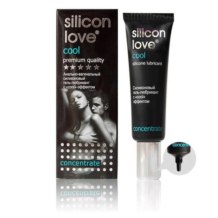 """Гель-любрикант """"SILICON LOVE COOL"""" 30г. силиконовый c """"сооl"""" эффектом анально-вагинальный. охлаждающий эффект"""
