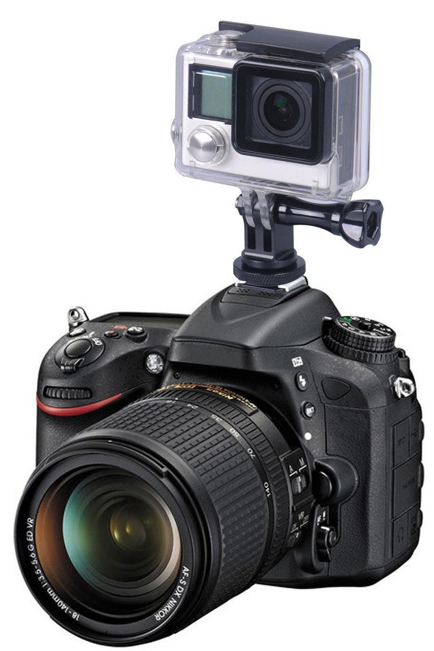 Smatree® Hot Shoe Mount | Крепление на фотоаппарат для GoPro