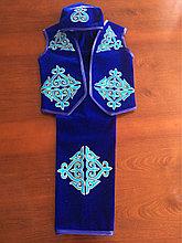 Детский казаxский костюм на мальчика от 5-8 лет