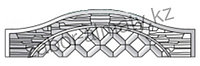 Декоративный железобетонный забор