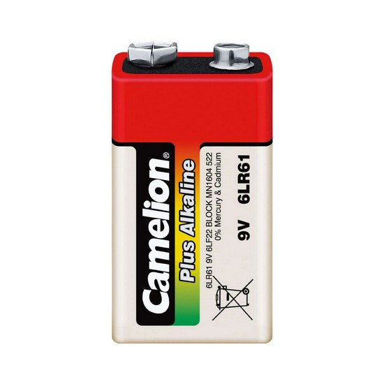 Батарейка CAMELION Plus Alkaline (Крона) 6LR61-BP1, 9V, Алматы