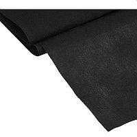 Материал укрывной 5×1,6 м, плотность, 60 г/м2 УФ, цвет чёрный