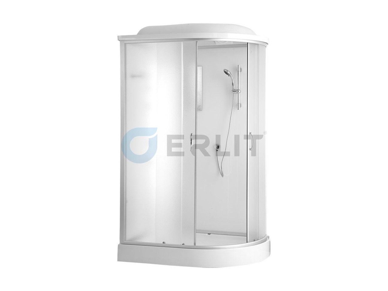 Душевая кабина Erlit ER3512PL-C3 1200*800*2150 низкий поддон, светлое стекло