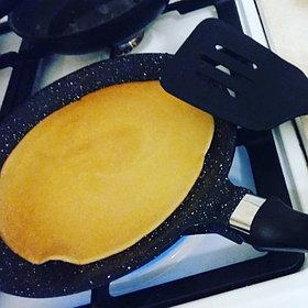 Сковорода блинная с камменым покрытием  Nice cooker 24' (BL)  http://nicecooker.kz/p42668922-skovoroda-blinnaya-kamennym.html