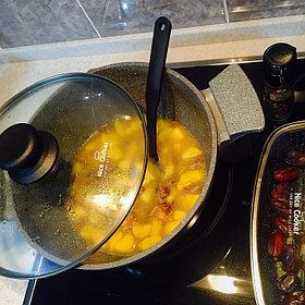 Казан с камменым покрытием  Nice cooker 24'  (GR), 4,3 L http://nicecooker.kz/p42669519-kazan-kamennym-pokrytiem.html