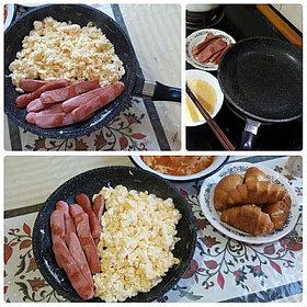 Сковорода Nice Cooker 24' (BL) 1.7 L http://nicecooker.kz/p42349694-skovoroda-kamennym-pokrytiem.html