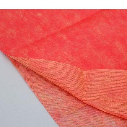 """Материал укрывной двухслойный 5×3 м """"Двойная защита"""", цвет жёлто-красный, фото 2"""