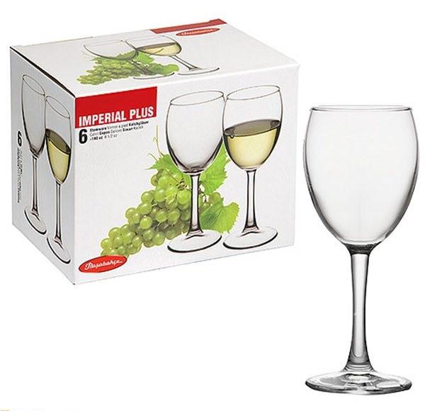 Набор бокалов Pasabahce Imperial Plus для вина 190 мл. 6 шт.