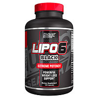 Жиросжигатель Lipo 6 Black - 120 капсул