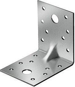 (46410) Крепежный уголок усиленный 2,0 мм,  KUU 70x70x55 мм// СИБРТЕХ//Россия