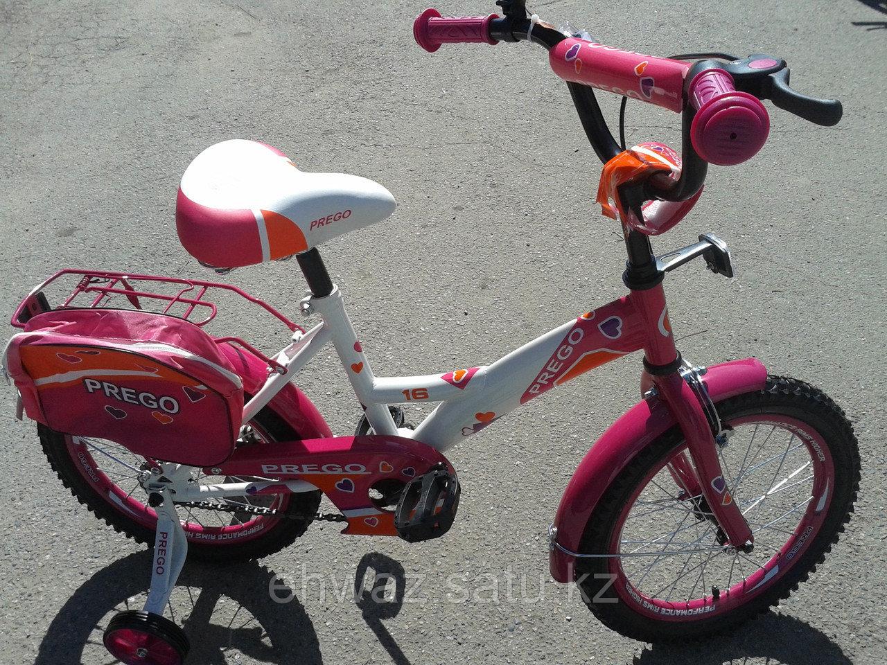 "Велосипед Prego 16"" на возраст 4-7 лет."