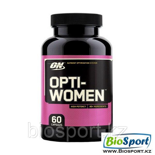Витамины, Optimum nutrition, Opti Women, 60 капсул