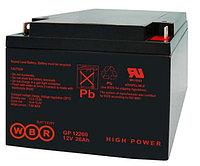 Аккумулятор GP 12450 12В 45Ач, 198х166х171