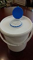 Емкость с крышкой для дезинфекции 6 л