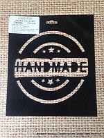 Трафарет пластиковый печать Handmae (размер 10*10см.)