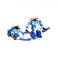 Robocar Poli Робот-трансформер - Поли с инструментами (свет), Робокар Поли