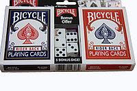 Набор карт и игральных костей Bicycle