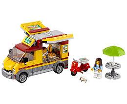 LEGO Город 60150 Фургон-пиццерия