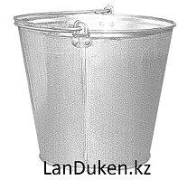 Ведро металлическое из стали на 9 литров 67590 (002)