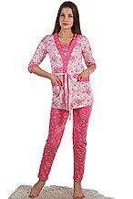 Женская пижама -  тройка. Россия.