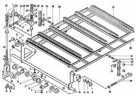 МСУ 04.110 Механизм привода щеток