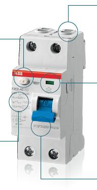 Выключатели дифференицального тока серия F200
