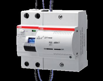 F202 может быть соединен с блоком автоматического повторного включения F2C-ARH в целях обеспечения непрерывности питания электроустановки вашего дома.