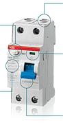 Выключатели дифференциального тока серия F200 (УЗО)