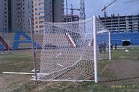 Футбольные ворота профессиональные алюминиевые овал 100*120 мм
