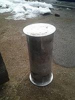 Труба алюминевая овал 10*12 стенка 5 мм 1 пог метр вес 5 кг