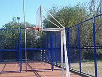Баскетбольный щит с усиленной стойкой