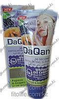 Скраб для лица DaQan,папайя и виноград