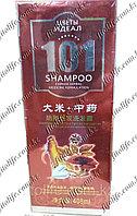 """Шампунь """"101"""" для роста и против выпадения волос, рис и китайские травы"""